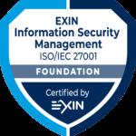 Zertifikat EXIN_Information -SM_ISO
