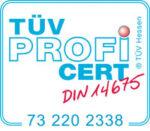 TÜV-Zertifizierung ISO 140129